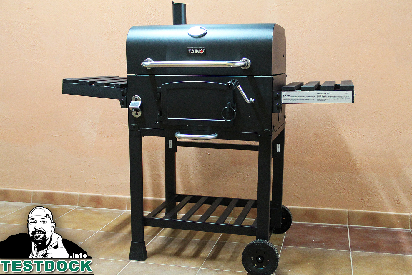 test g nstiger xxl smoker grill testdock. Black Bedroom Furniture Sets. Home Design Ideas